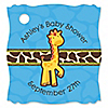 Giraffe Boy - Personalized Baby Shower Tags - 20 ct