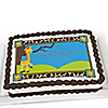 Giraffe Boy - Personalized Birthday Party Cake Toppers