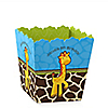 Giraffe Boy - Personalized Birthday Party Candy Boxes