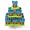 Giraffe Boy - Birthday Party Candy Stand and 13 Candy Boxes