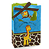 Giraffe Boy - Personalized Birthday Party Favor Boxes