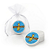 Giraffe Boy - Personalized Birthday Party Lip Balm Favors