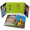 Giraffe Boy - Personalized Birthday Party Photo Invitations