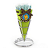 Giraffe Boy - Birthday Party Candy Bouquets with Sticklettes