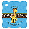Giraffe Boy - Personalized Birthday Party Tags - 20 ct