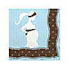 Mommy Silhouette It's A Boy - Baby Shower Beverage Napkins - 16 ct