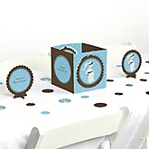 Mommy Silhouette It's A Boy - Baby Shower Centerpiece & Table Decoration Kit