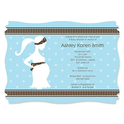 Mommy silhouette its a boy personalized baby shower invitations mommy silhouette its a boy personalized baby shower invitations bigdotofhappiness filmwisefo
