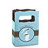 Mommy Silhouette It's A Boy - Personalized Baby Shower Mini Favor Boxes