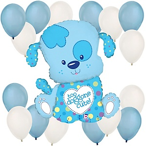 Boy Puppy - Balloon Kit for Baby Showers