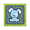 Boy Puppy Dog - Baby Shower Beverage Napkins - 16 ct