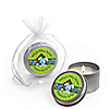 Boy Puppy Dog - Personalized Baby Shower Candle Tin Favors