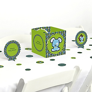 Boy Puppy Dog - Baby Shower Centerpiece & Table Decoration Kit