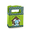 Boy Puppy Dog - Personalized Baby Shower Mini Favor Boxes