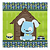 Boy Puppy Dog - Baby Shower Luncheon Napkins - 16 ct