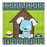 Boy Puppy Dog - Baby Shower Luncheon Napkins - 16 Pack