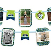 Boy Puppy Dog - Baby Shower Photo Garland Banners