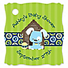 Boy Puppy Dog - Personalized Baby Shower Tags - 20 ct
