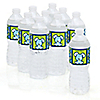 Boy Puppy Dog - Personalized Baby Shower Water Bottle Label Favors