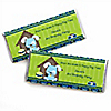 Boy Puppy Dog - Personalized Birthday Party Candy Bar Wrapper Favors