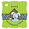 Boy Puppy Dog - Personalized Birthday Party Tags - 20 ct