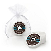 Skullitude™ - Baby Boy Skull - Lip Balm Personalized Baby Shower Favors