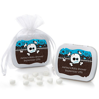 Skullitude™ - Baby Boy Skull - Mint Tin Personalized B...