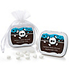 Skullitude™ - Baby Boy Skull - Personalized Baby Shower Mint Tin Favors