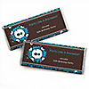 Skullitude™ - Boy Skull - Personalized Birthday Party Candy Bar Wrapper Favors