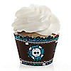 Skullitude™ - Boy Skull - Birthday Party Cupcake Wrappers