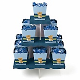 Baby Boy Teddy Bear - Baby Shower Candy Stand & 13 Fill Your Own Candy Boxes