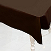 Brown - Birthday Party Plastic Tablecovers