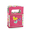 Playful Butterfly and Flowers - Personalized Birthday Party Mini Favor Boxes