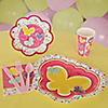 Playful Butterfly and Flowers - 8 Person Birthday Party Kit