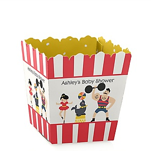 Circus / Carnival - Cirque du Bebe - Personalized Baby Shower Candy Boxes