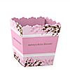 Baby Cherry Blossom - Personalized Baby Shower Candy Boxes