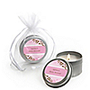 Baby Cherry Blossom - Personalized Baby Shower Candle Tin Favors