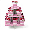 Baby Cherry Blossom - Baby Shower Candy Stand and 13 Candy Boxes