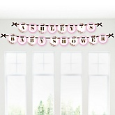 Baby Cherry Blossom - Personalized Baby Shower Garland Banner