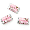 Baby Cherry Blossom - Personalized Baby Shower Mini Candy Bar Wrapper Favors - 20 ct
