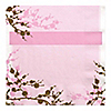 Baby Cherry Blossom - Baby Shower Luncheon Napkins - 16 ct