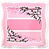 Baby Cherry Blossom - Baby Shower Dinner Plates - 8 ct