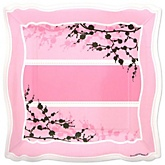 Baby Cherry Blossom - Baby Shower Dinner Plates - 8 Pack