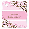 Baby Cherry Blossom - 20 Personalized Baby Shower Tags - 20 ct