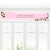 Cherry Blossom - Personalized Birthday Party Banners