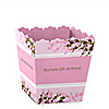 Cherry Blossom - Personalized Birthday Party Candy Boxes