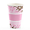 Cherry Blossom - Birthday Party Hot/Cold Cups - 8 ct