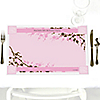 Cherry Blossom - Personalized Birthday Party Placemats