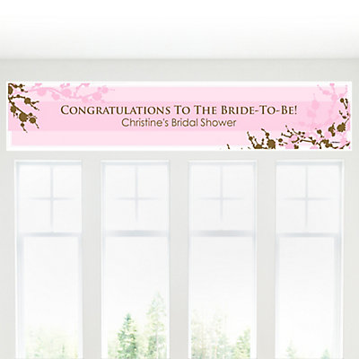 bridal shower banners