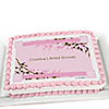 Cherry Blossom - Personalized Bridal Shower Cake Toppers
